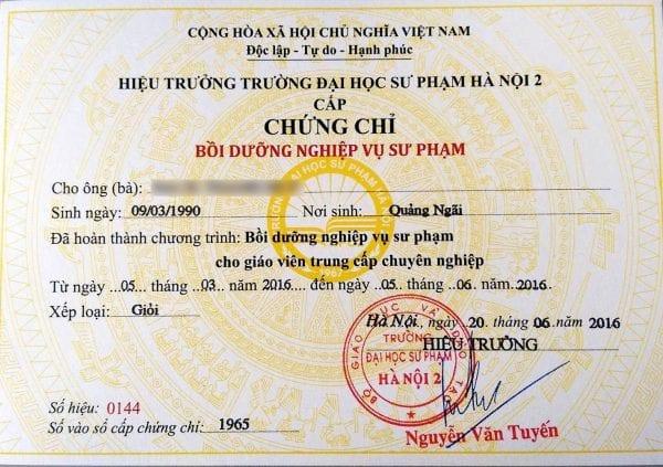Bí quyết nhận sắm bằng anh văn tin học tại Hcm của Baoxinviec